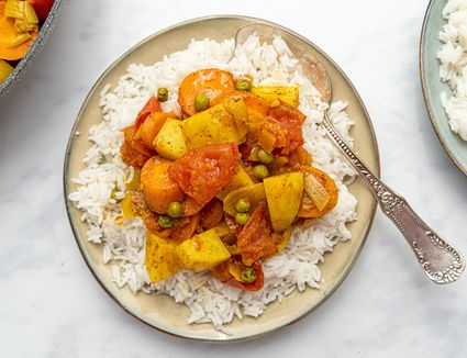 Easy Curried Indian Vegetables Recipe