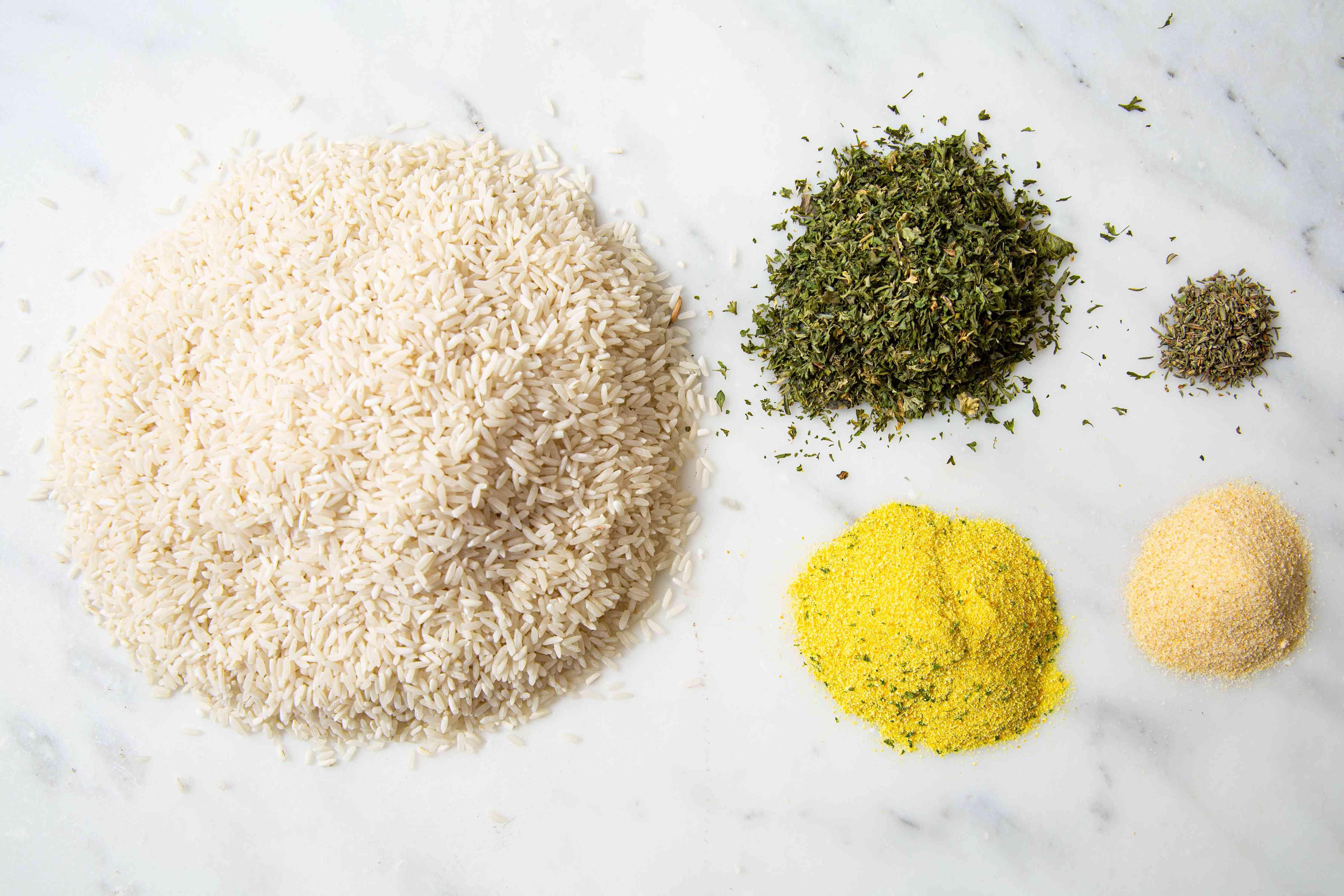 Seasoned Rice Mix ingredients