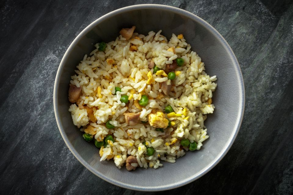 Chicken Fried Rice with Peas