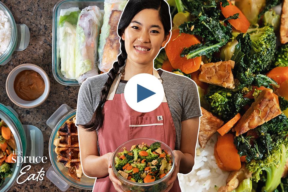 Vegan-friendly meal prep with Erika Kwee