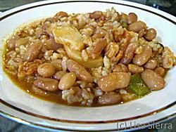 Spanish White Beans and Rice - Empedrado de Arroz