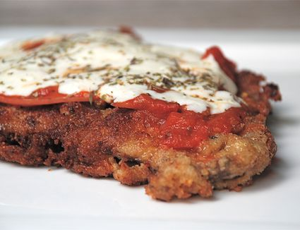 Milanesa napolitana - Argentinian fried steak, Italian-style