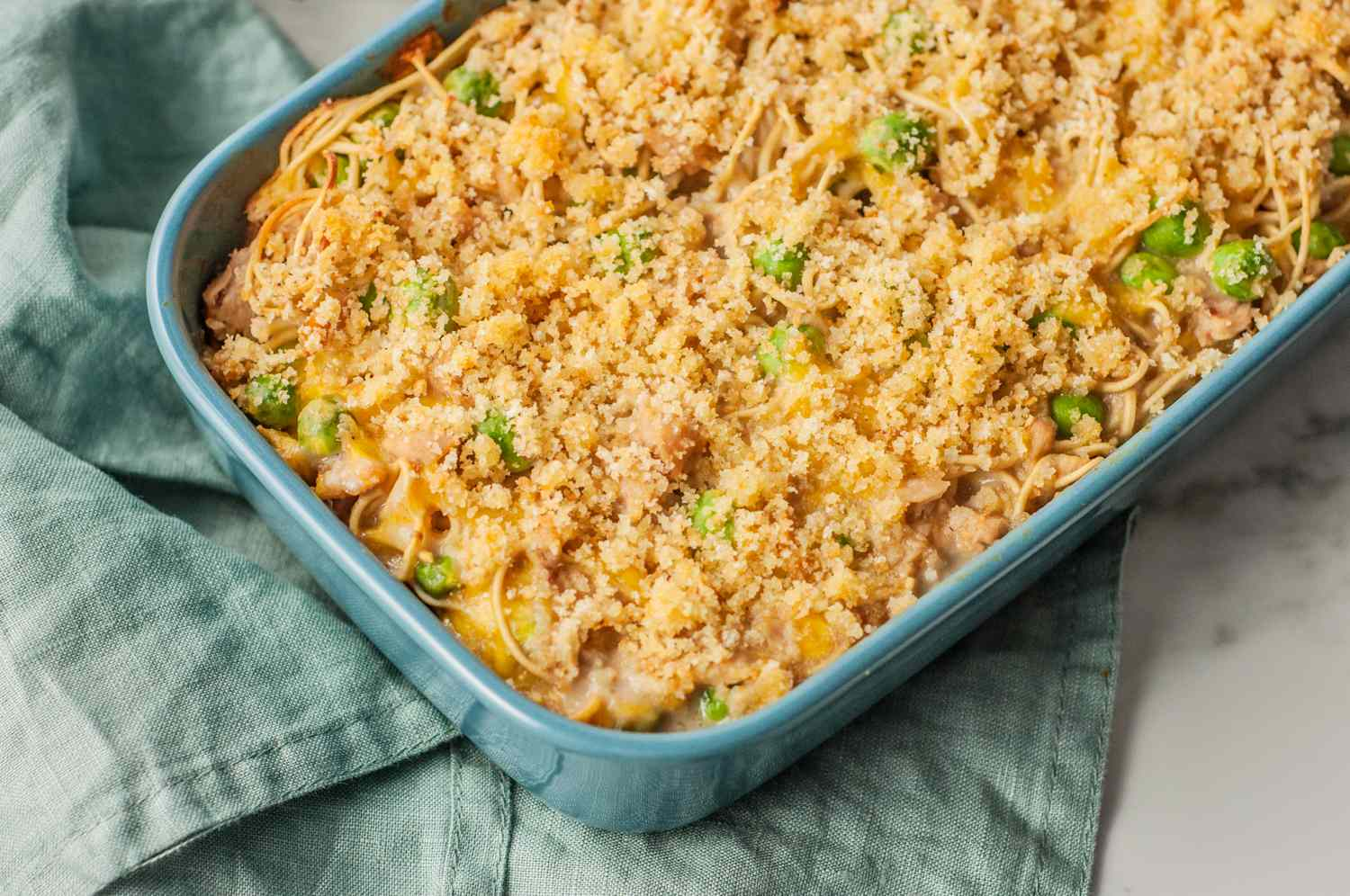 easy tuna noodle casserole with cheddar cheese recipe