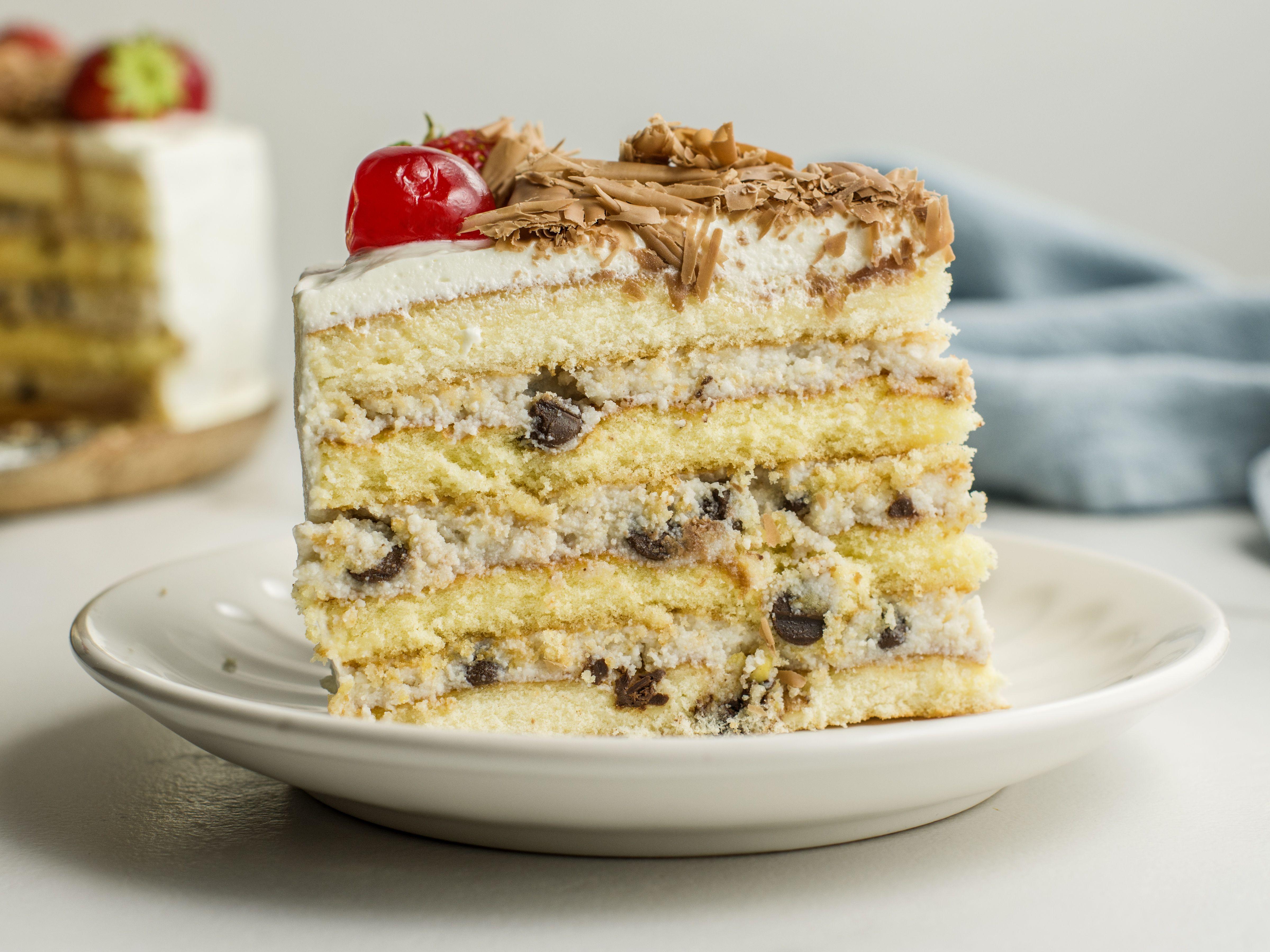 Italian Ricotta Cassata Cake Recipe