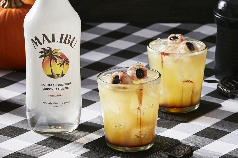 Malibu Black Rum With Maliboo Halloween Cocktails