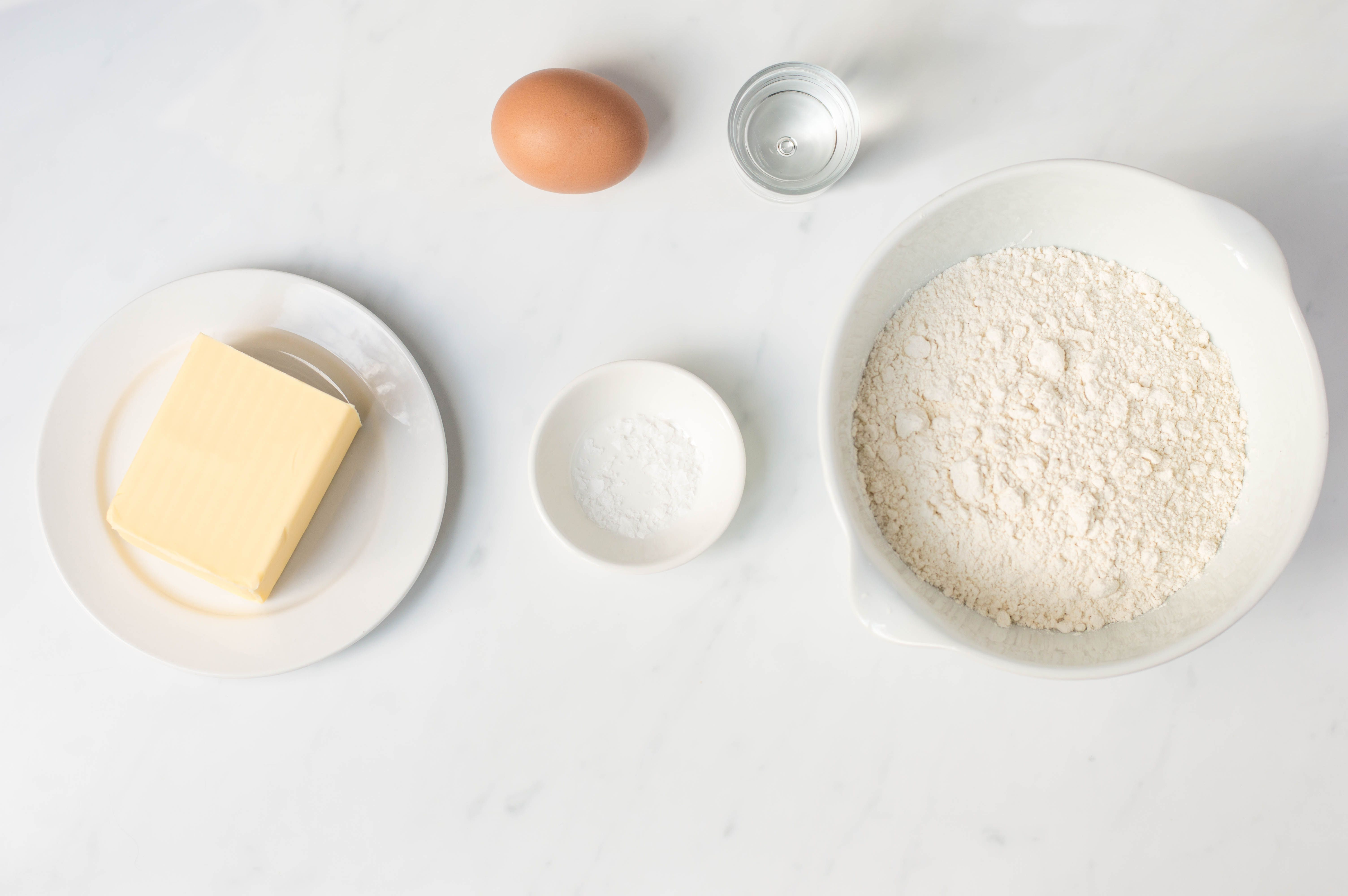 Mince pie pastry ingredients