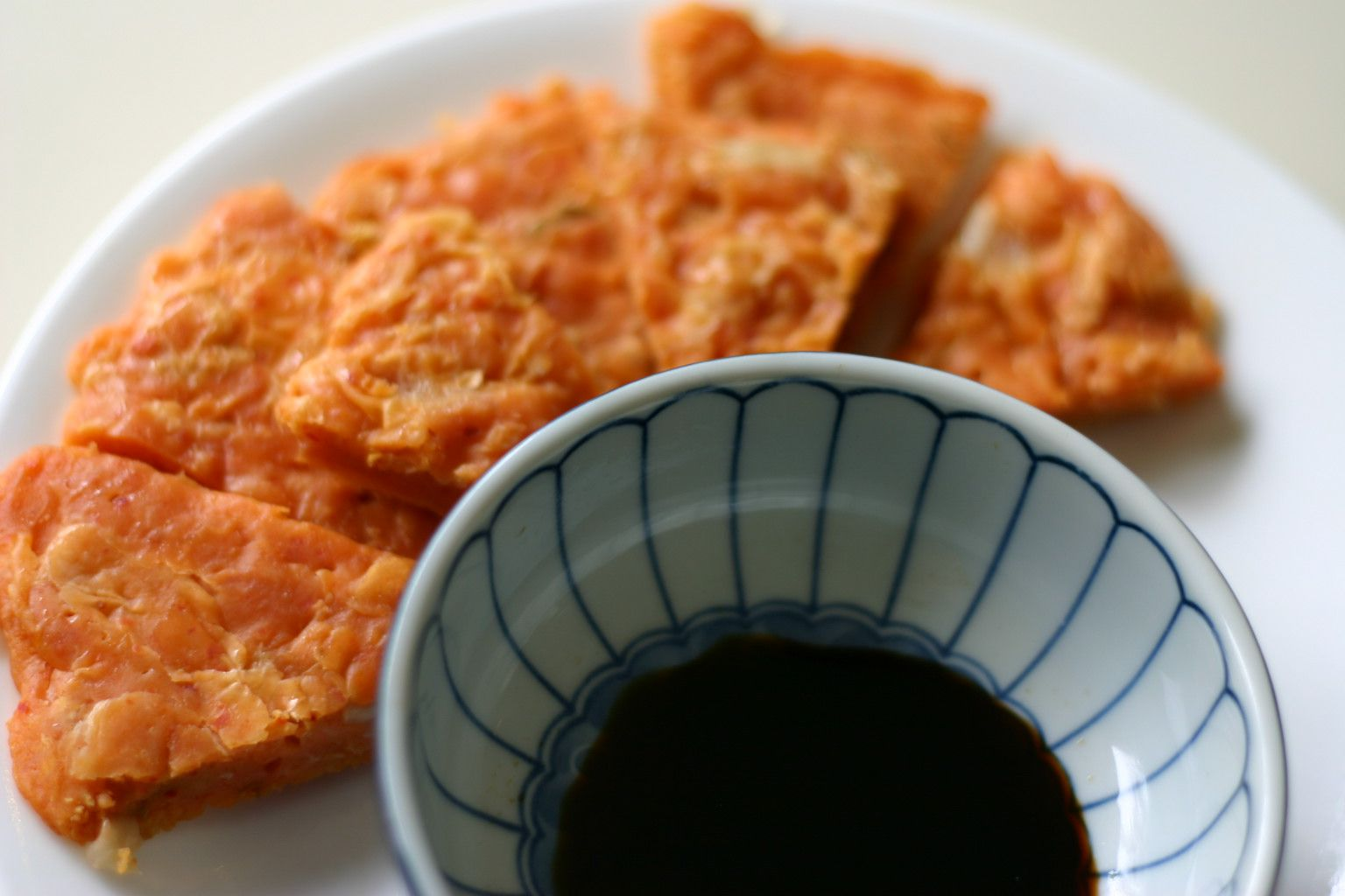 Korean kimchi pancake (Kimchee Jun)