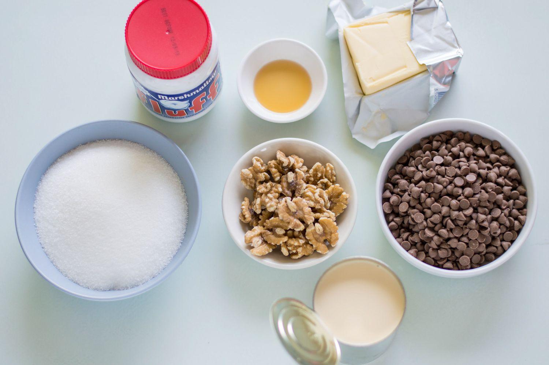 Marshmallow creme fudge ingredients