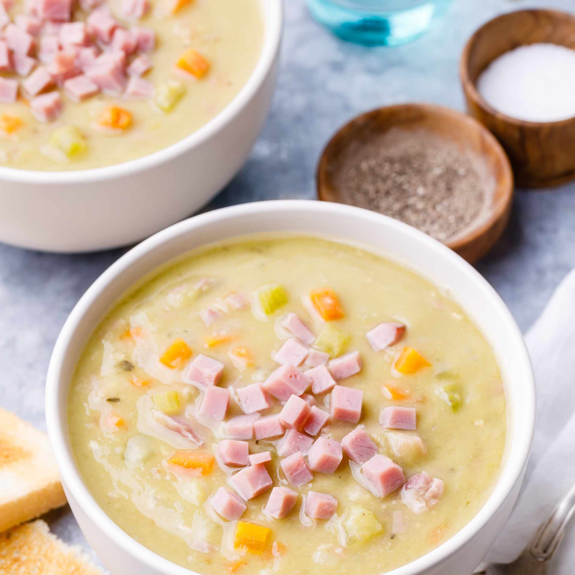 Classic Split Pea Soup With Ham Recipe