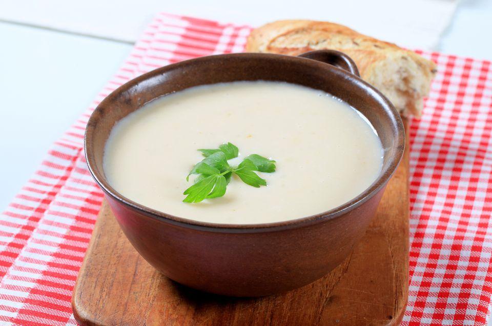Base de sopa condensada casera