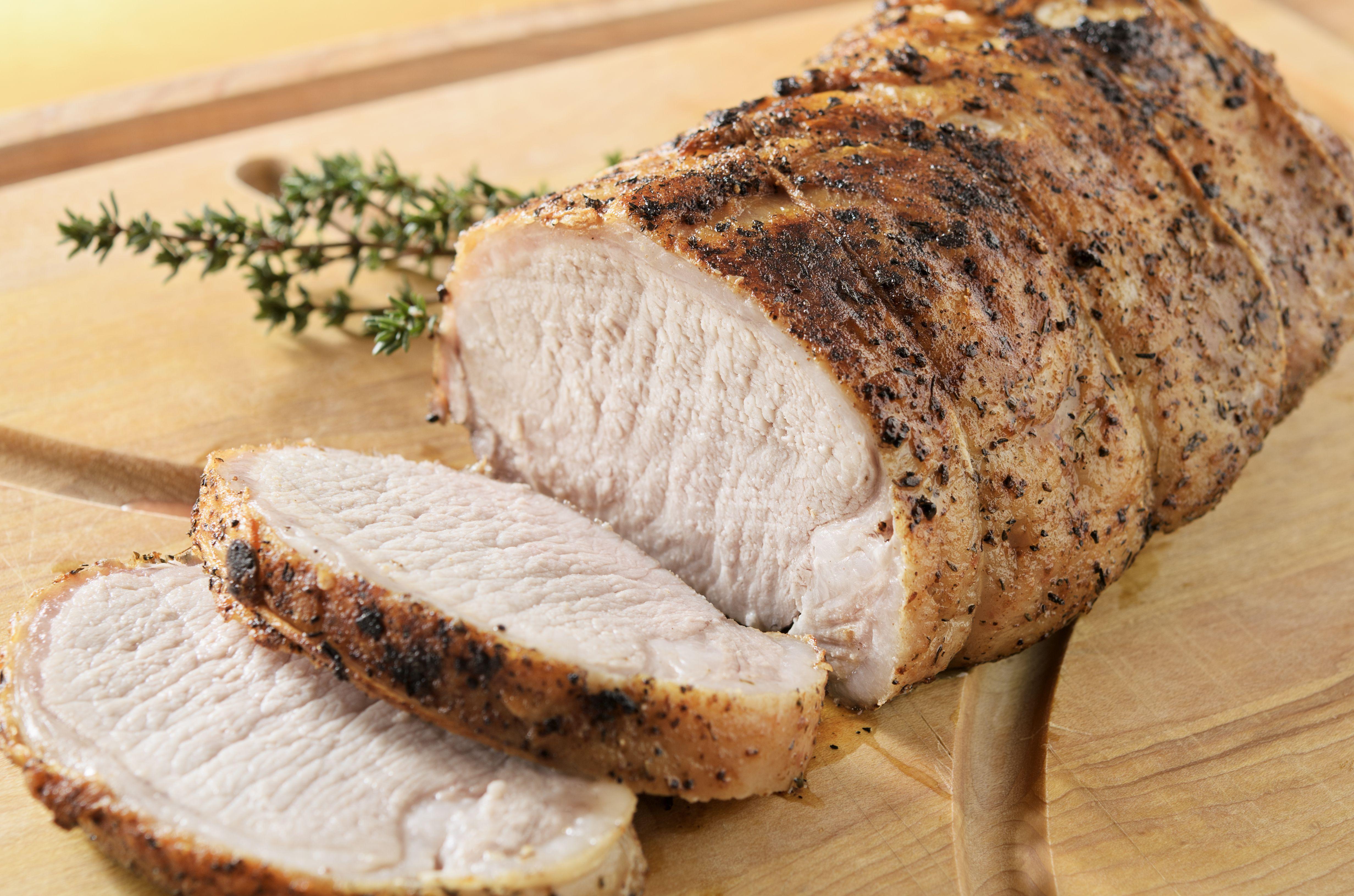 Parmesan Roast Pork