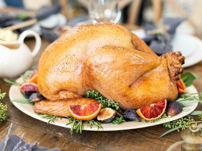 thanksgiving roast turkey stuffed or unstuffed