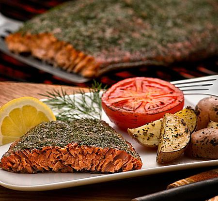 Caramelized Grilled Salmon Recipe