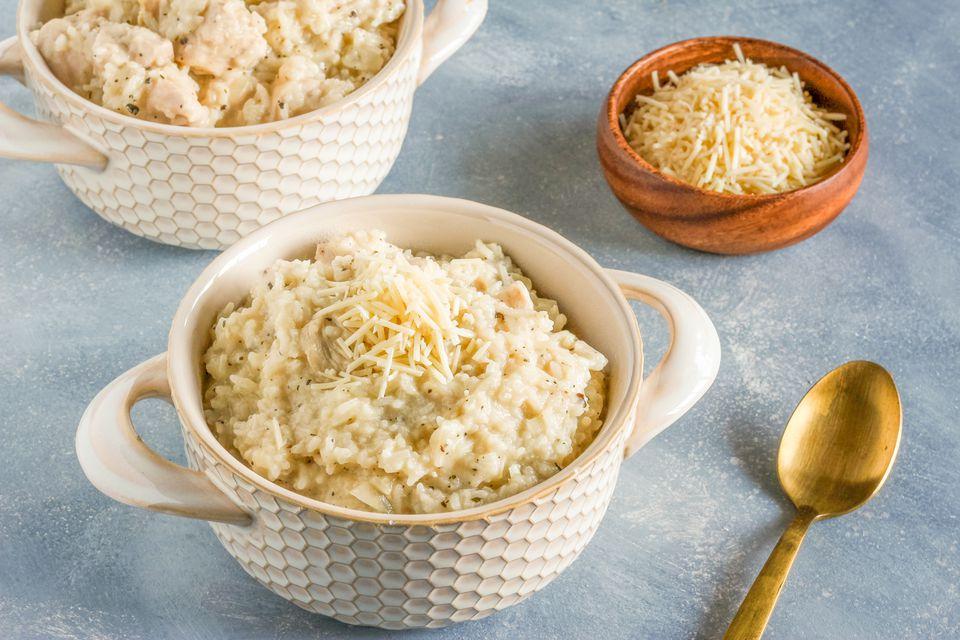 Long grain rice chicken risotto recipe