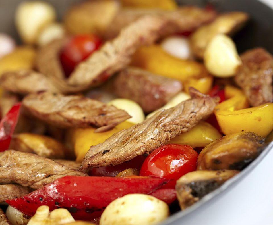 Sweet and Sour Steak Stir-Fry