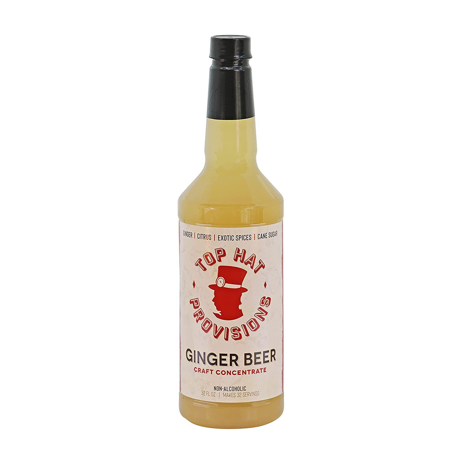 Top Hat Ginger Beer Craft Concentrate