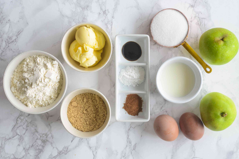 Apple Fritter Bread ingredients