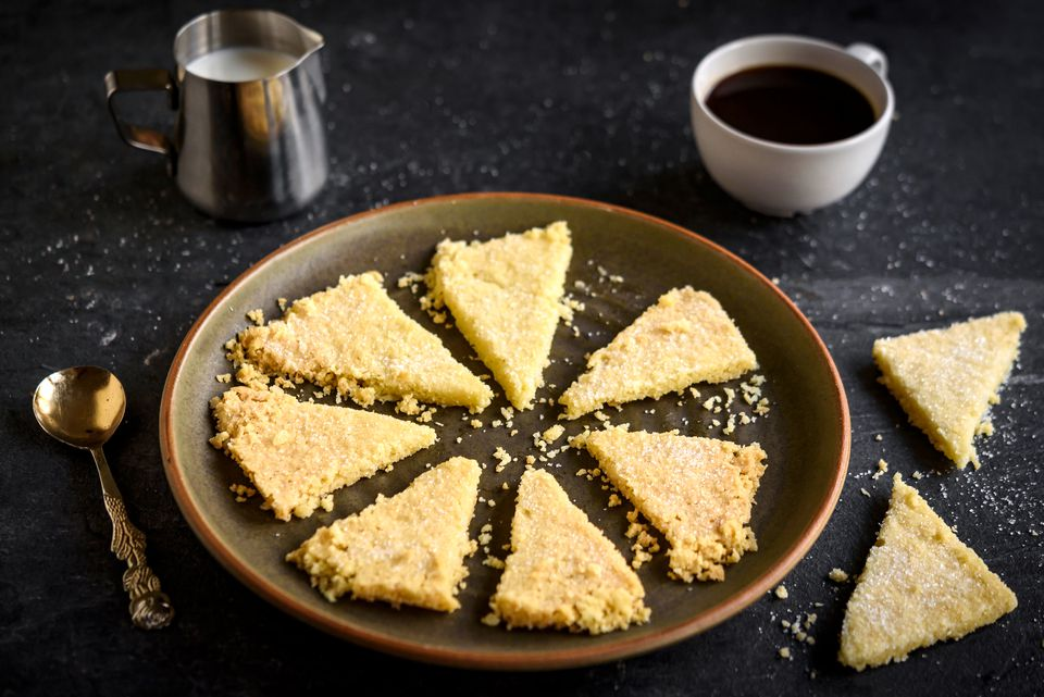 3-Ingredient Shortbread Recipe