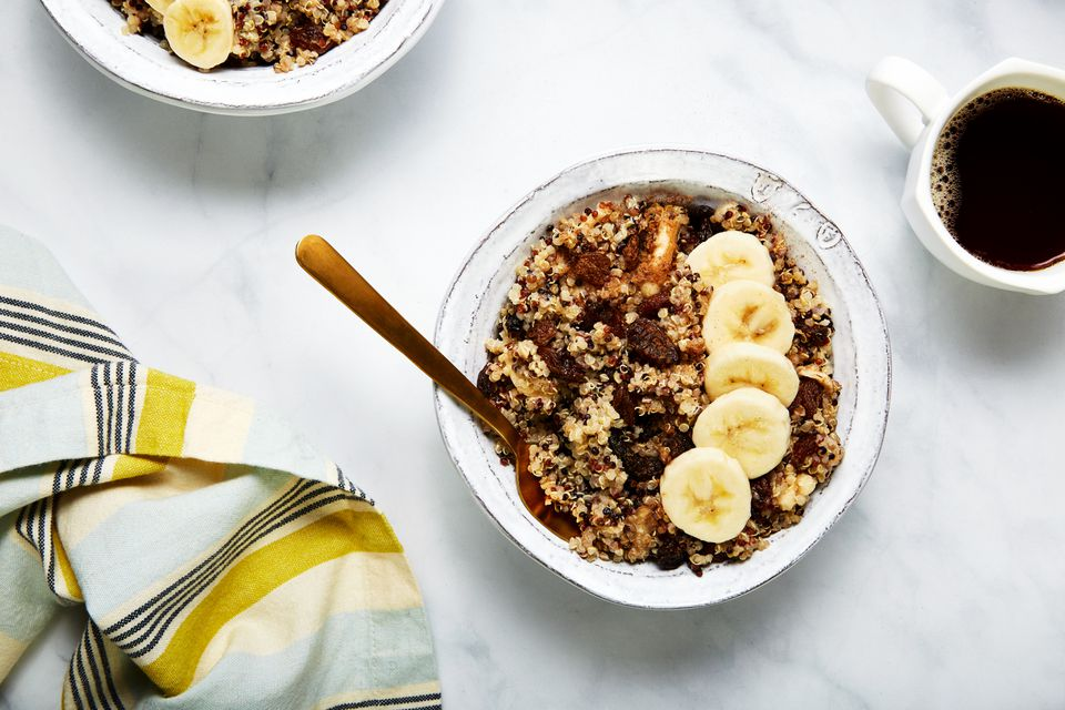 Maple cinnamon breakfast quinoa recipe