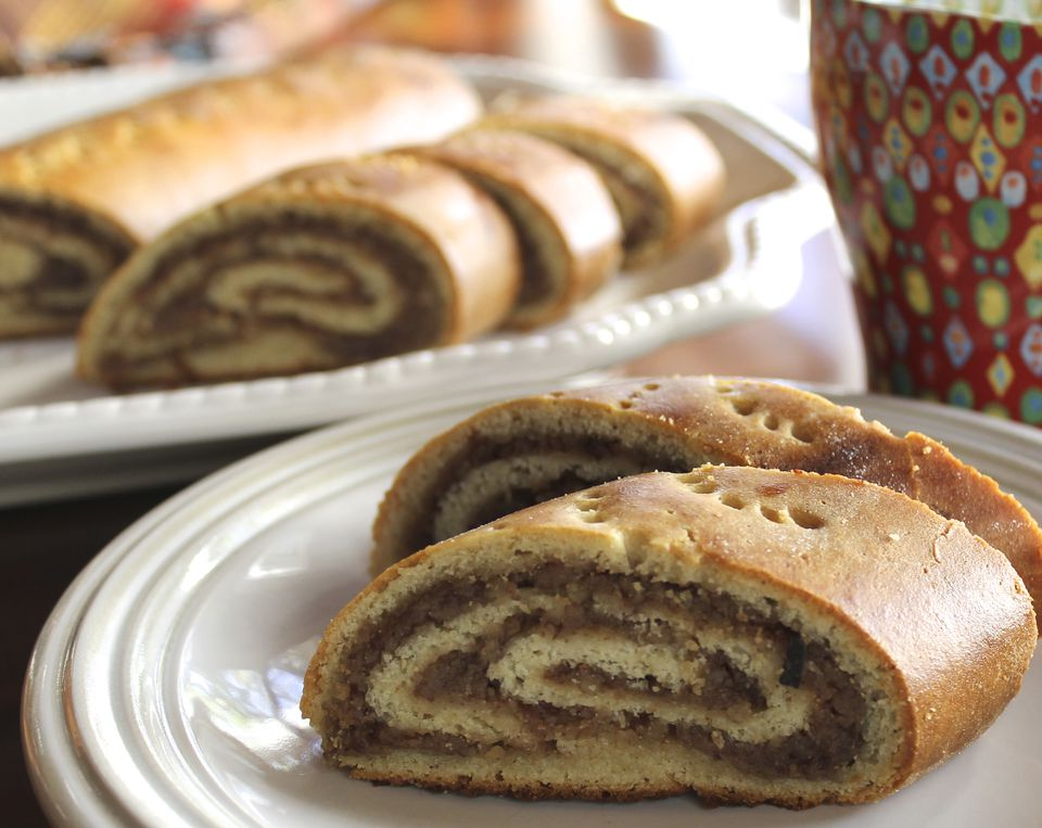 Gluten-Free Croatian Nut Roll Recipe Image Teri Gruss