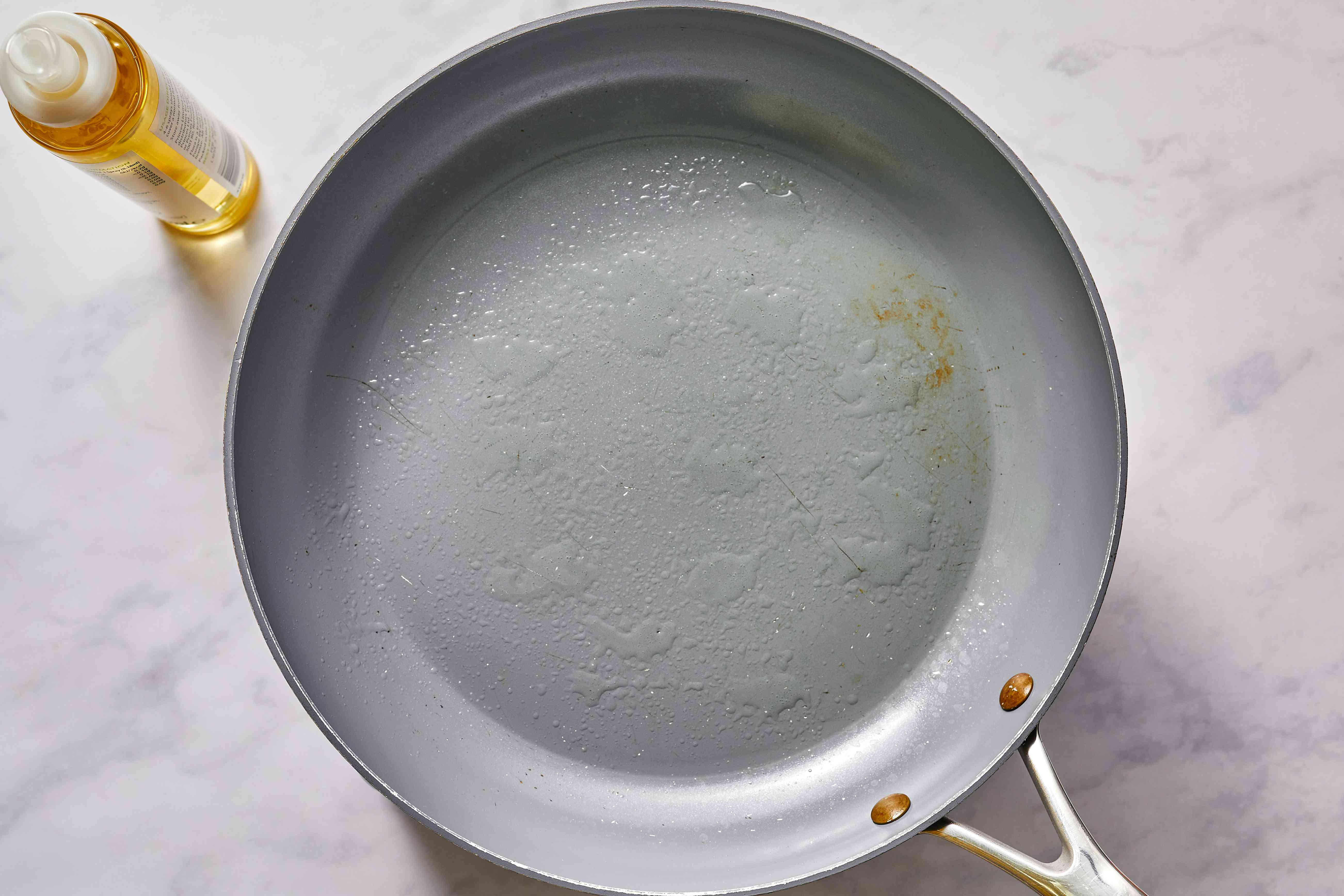 pan with oil