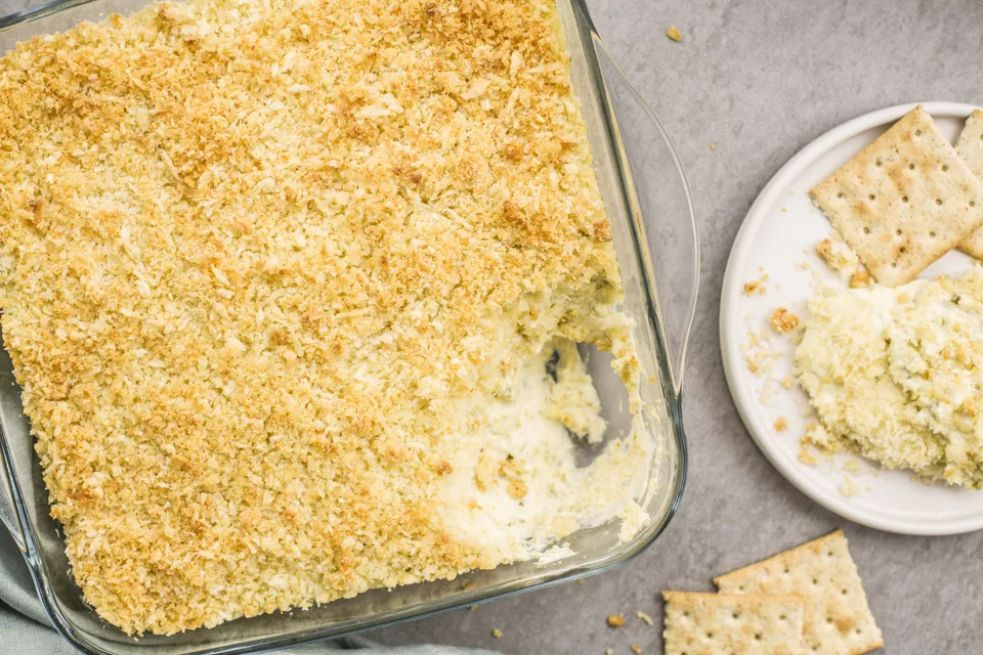 Breadcrumb-Topped Jalapeno Popper Dip recipe