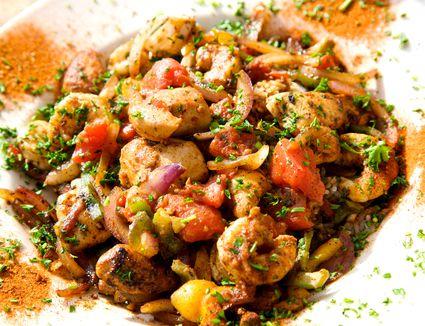 Shrimp and Crawfish Jambalaya