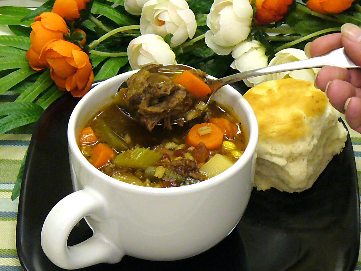 oxtail, soup, recipes, vegetables, beef, stew, barley, receipts