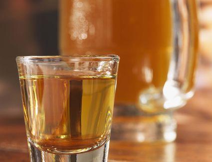Boilermaker Shot Drink