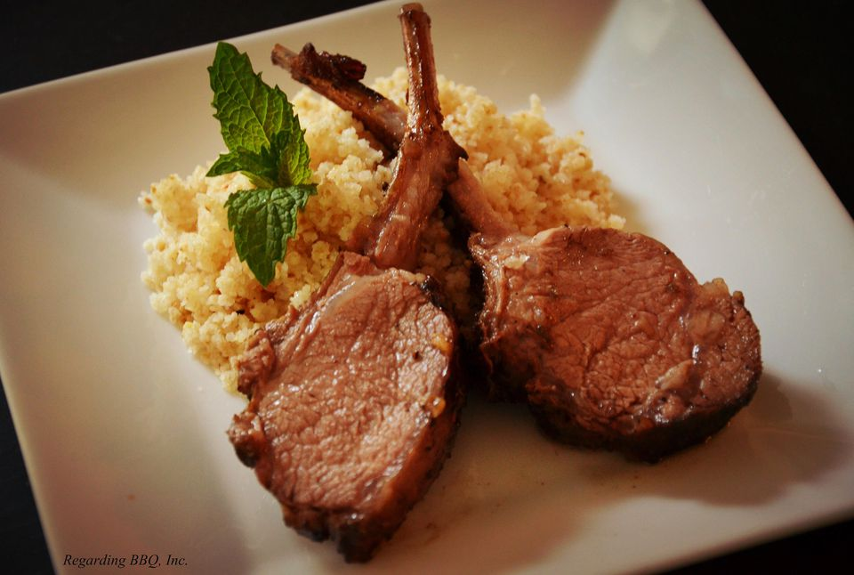 Grilled Indian-Style Lamb Chops