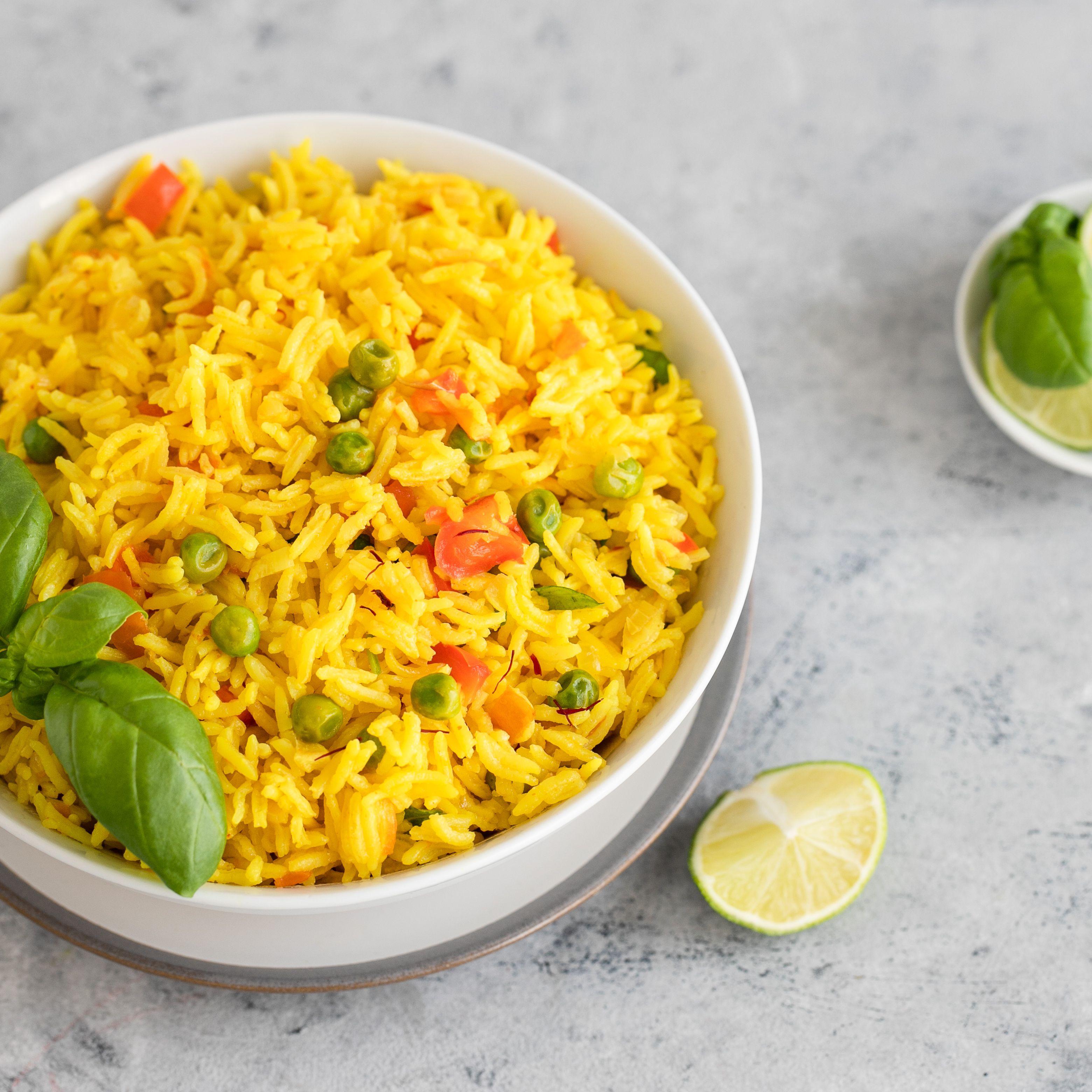 Easy Thai Yellow Rice Recipe