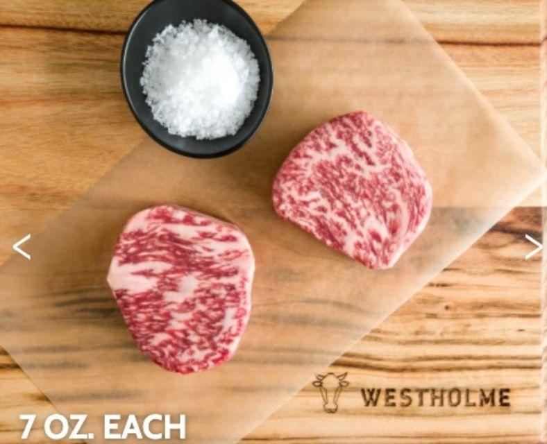 Westholme Wagyu Manhattan Filet Steaks for Two