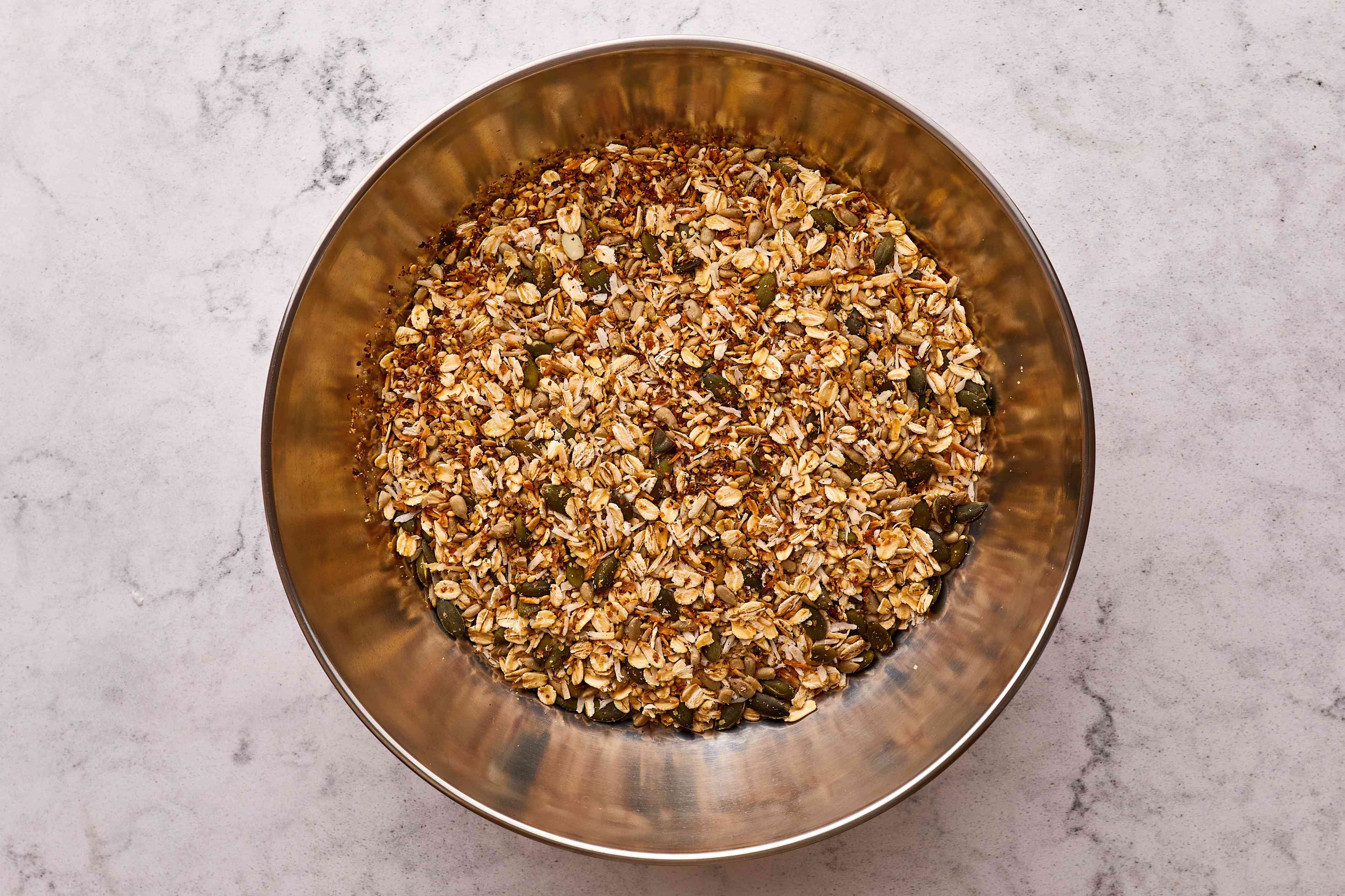 transfer oat mixture to a bowl
