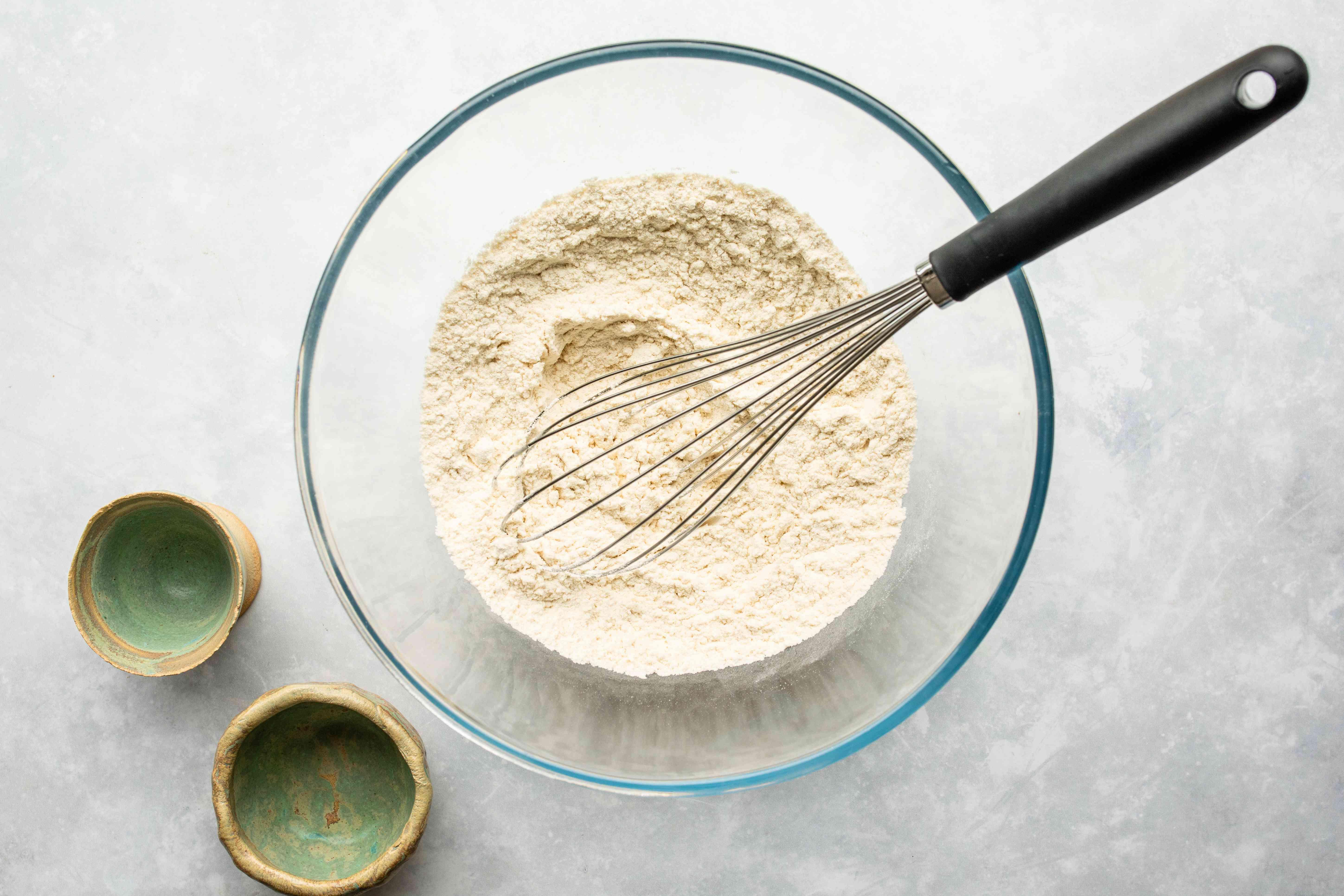 Combine flour and salt