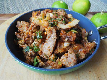 Thai Grilled Pork Salad Recipe