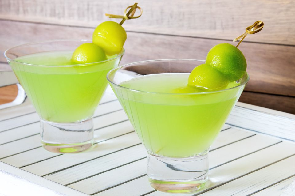 Melon Ball Cocktail