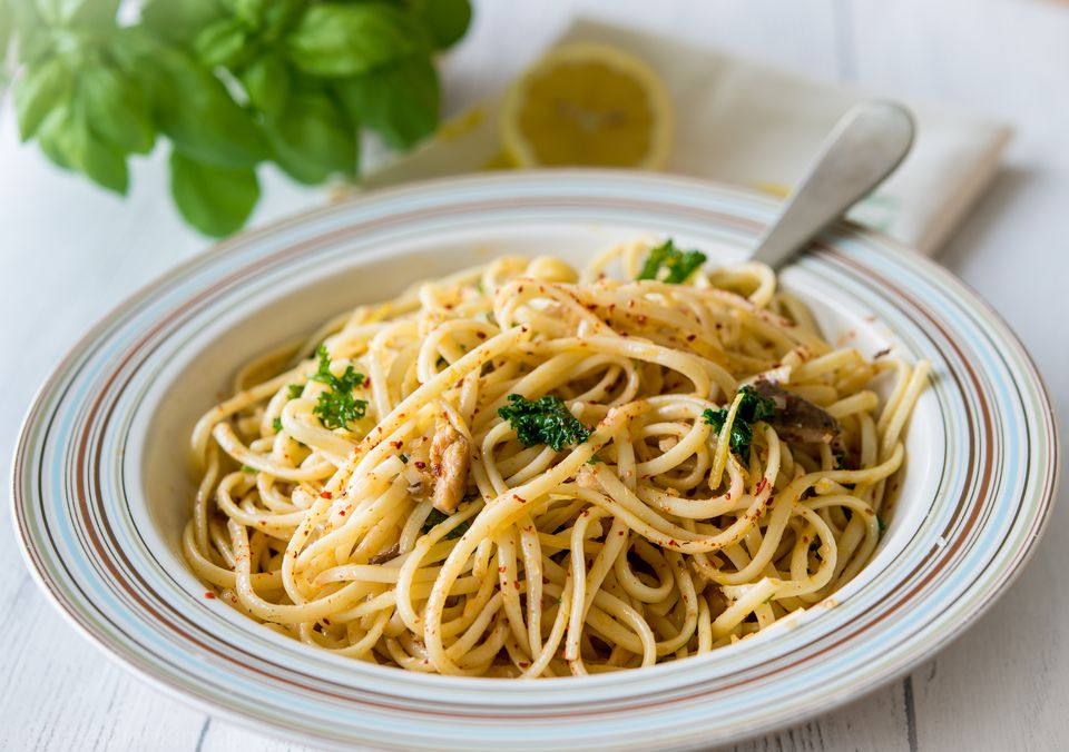Sardine and Lemon Pasta