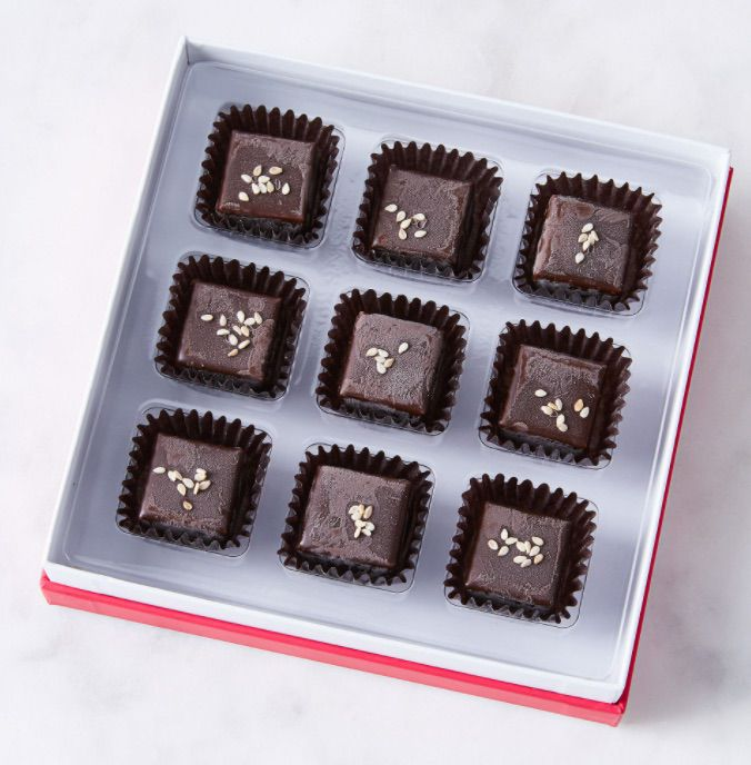 Zoe's Chocolate Co. Sesame Tahini Chocolate Gift Box