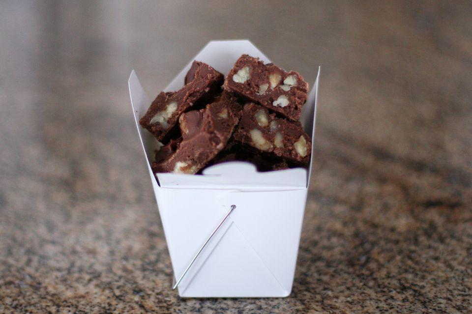 5 minute chocolate fudge