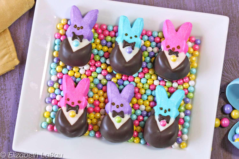 Tuxedo Bunny Peeps