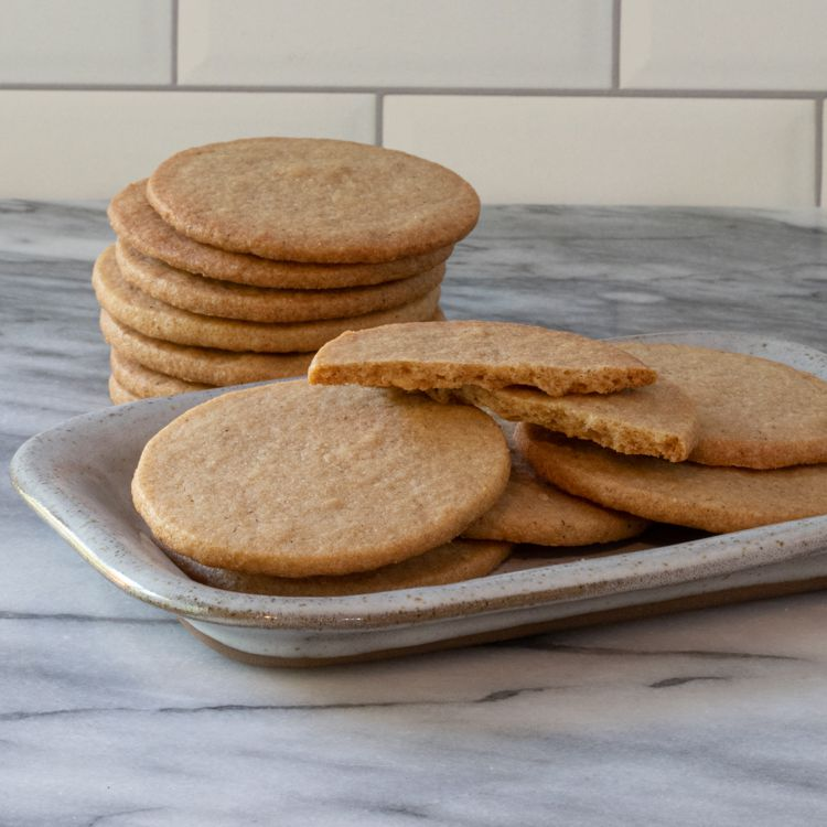Traditional Ginger Biscuit Recipe Tester Image