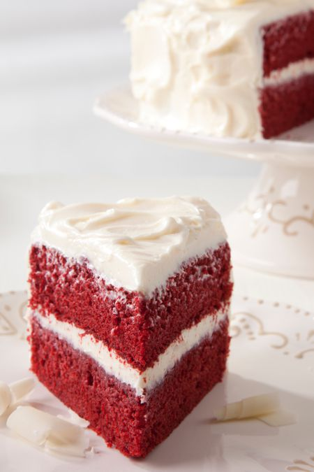 Homemade Red Velvet Cake With Cooked Frosting Recipe