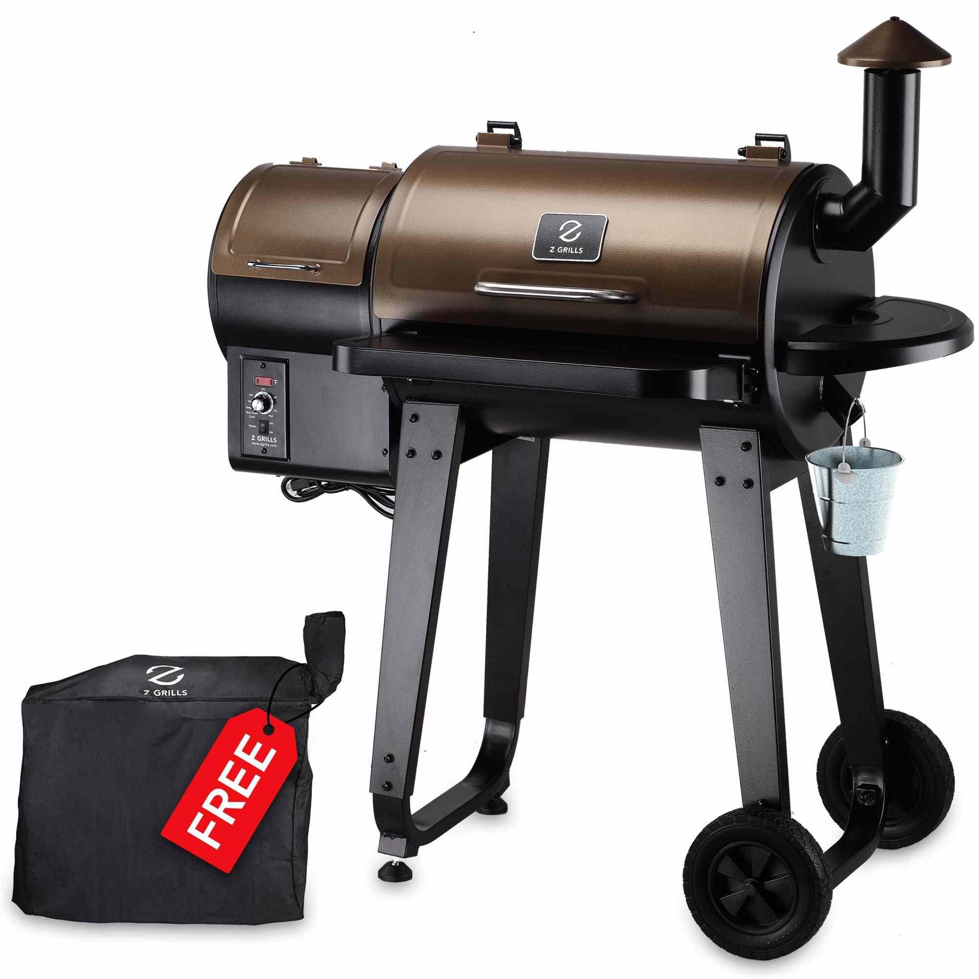 Z GRILLS ZPG-450A 2020 Upgrade Wood Pellet Grill & Smoker