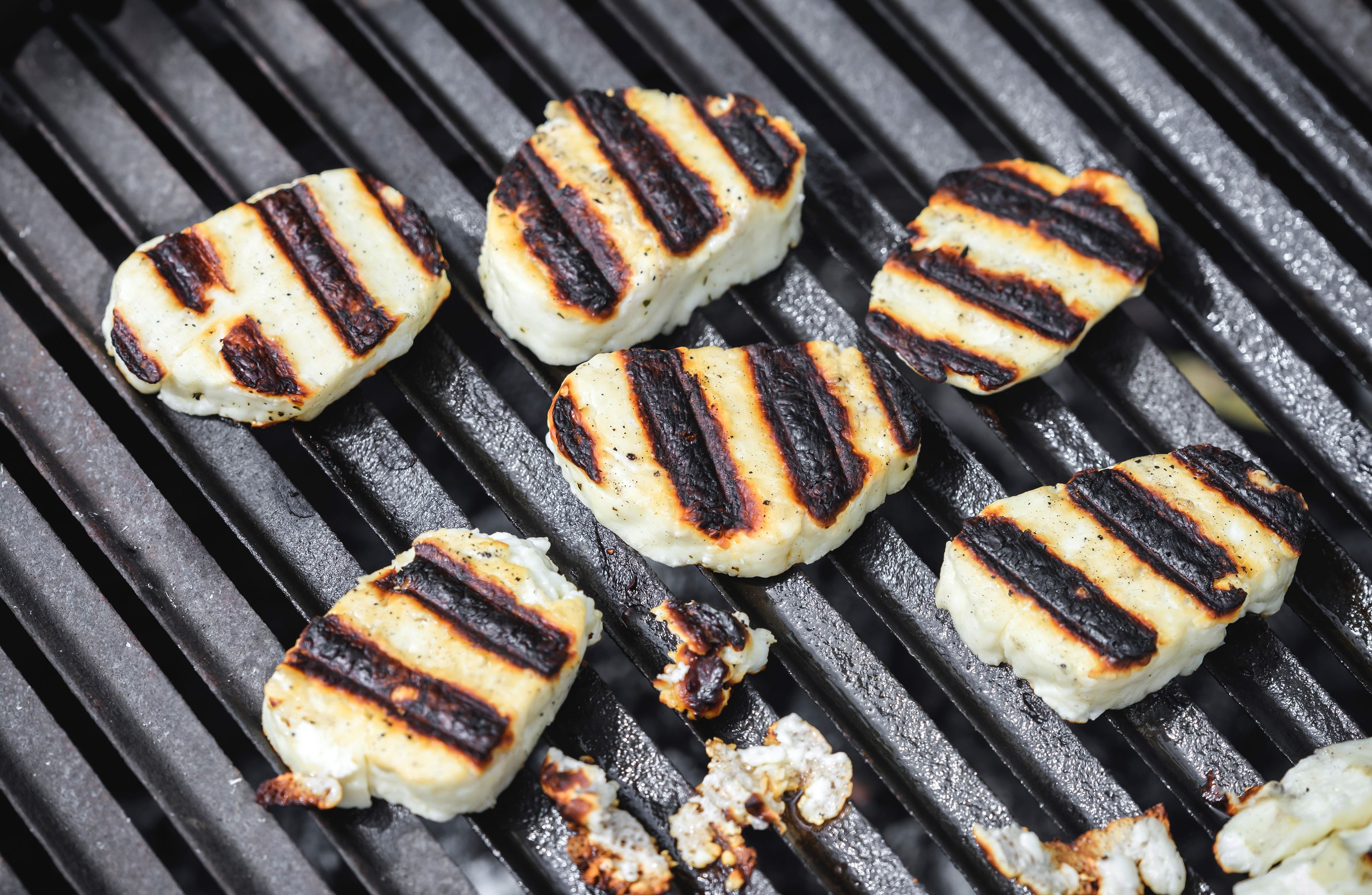 Halloumi Cheese on the grill