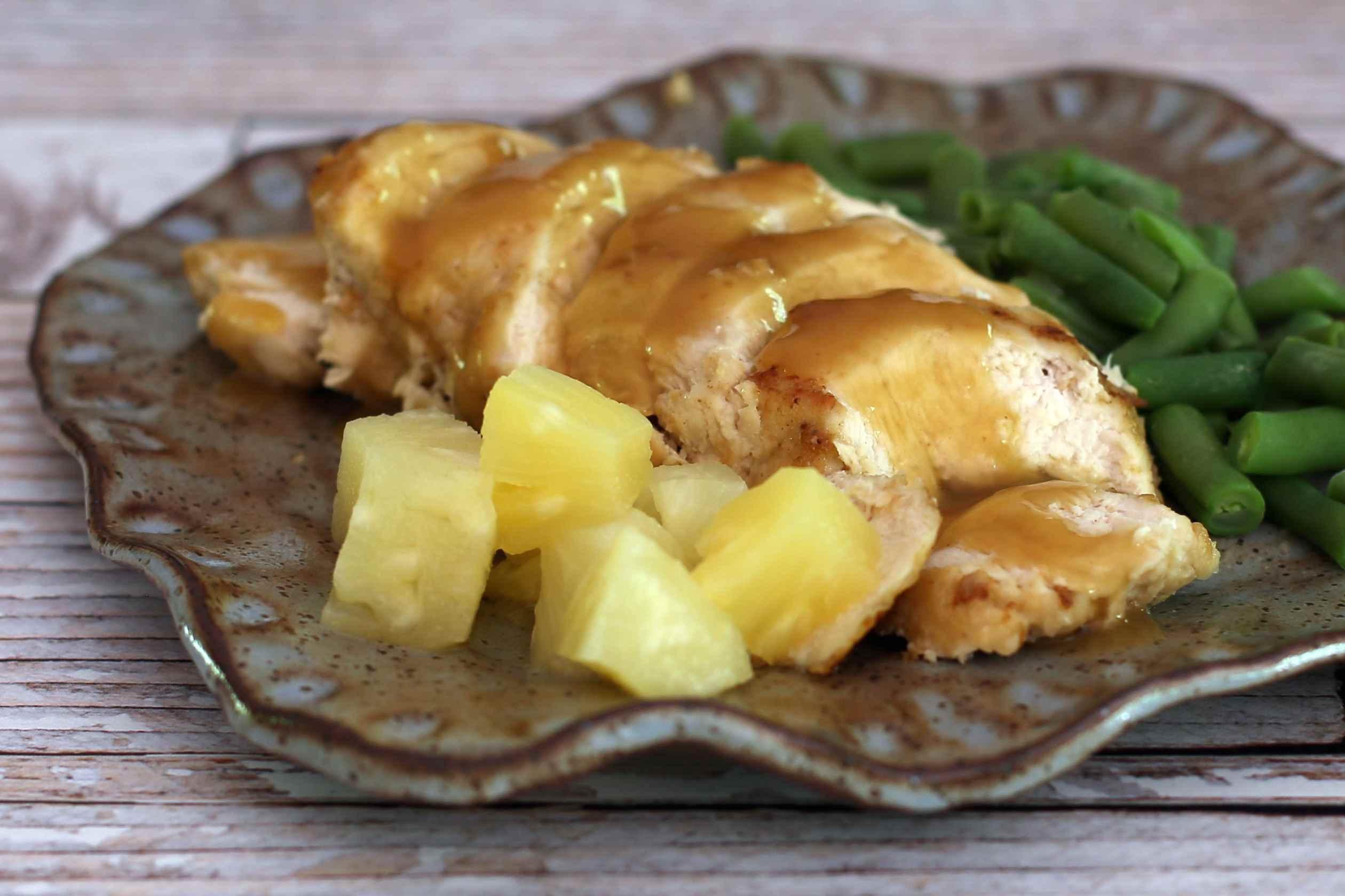 Pineapple Baked Chicken