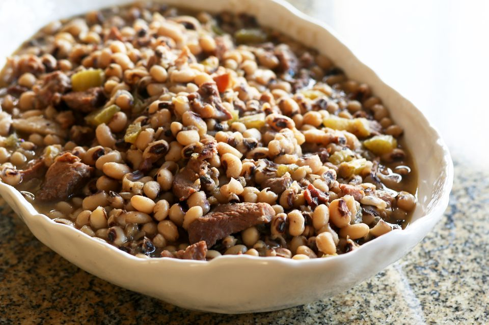 Black-Eyed Peas with Pork