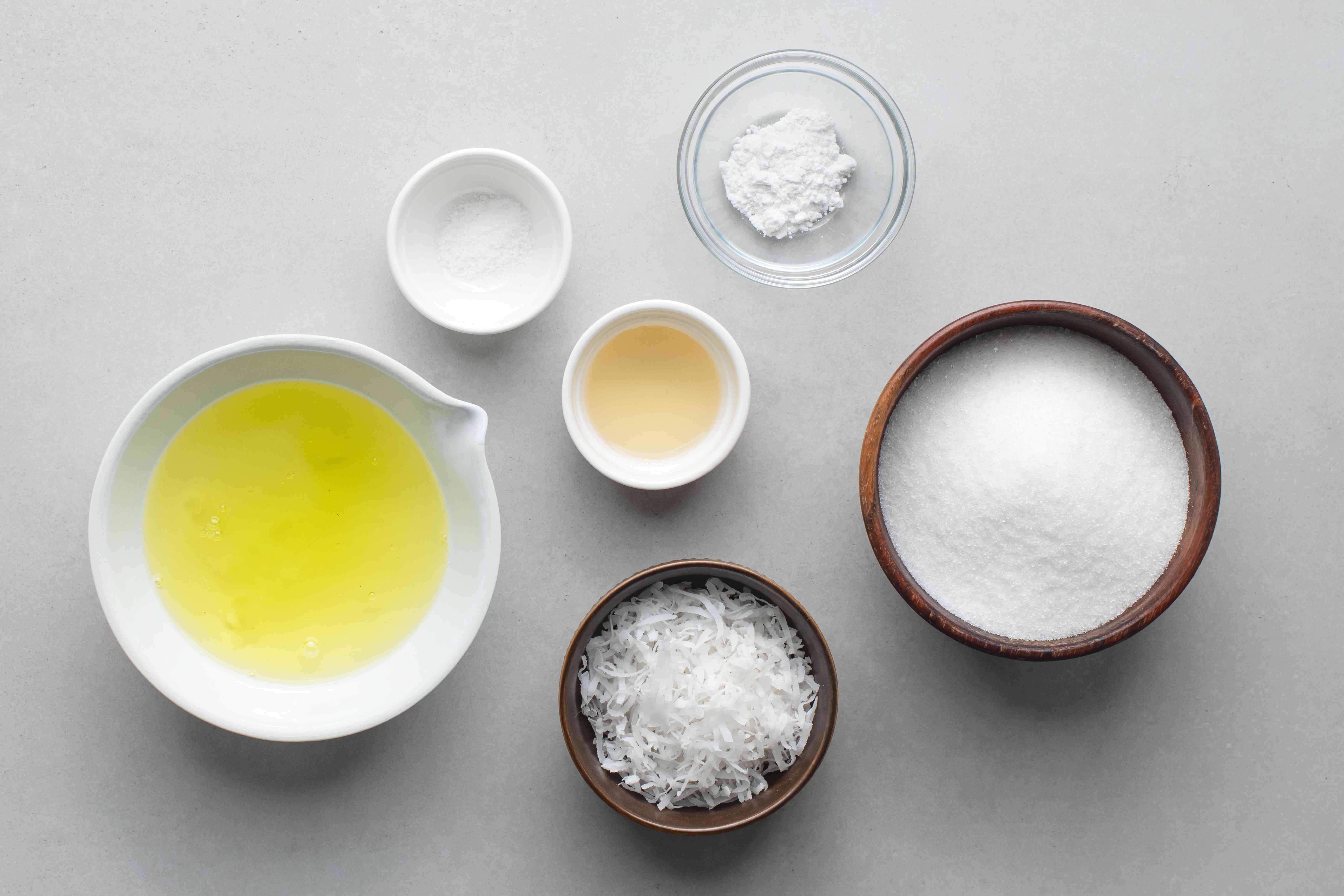 fluffy coconut icing ingredients