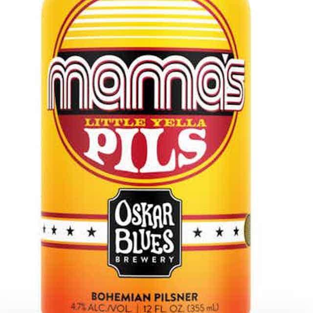 Oskar Blues Brewery Mama's Little Yella Pils