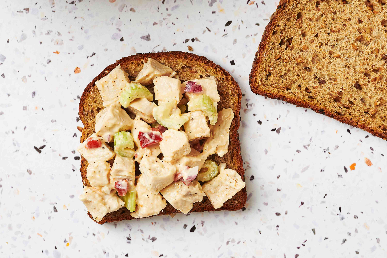 Favorite Chicken Salad on toast