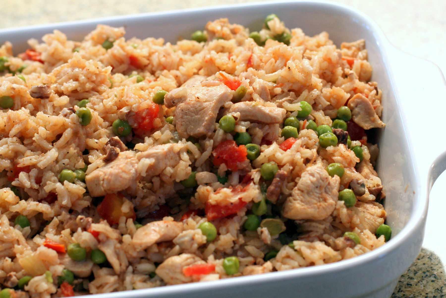 chicken pilaf recipe chicken and rice